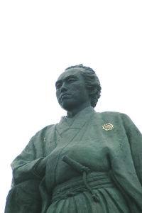 坂本龍馬銅像桂浜